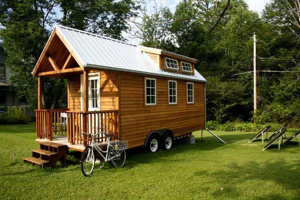 Дом на колесах построить