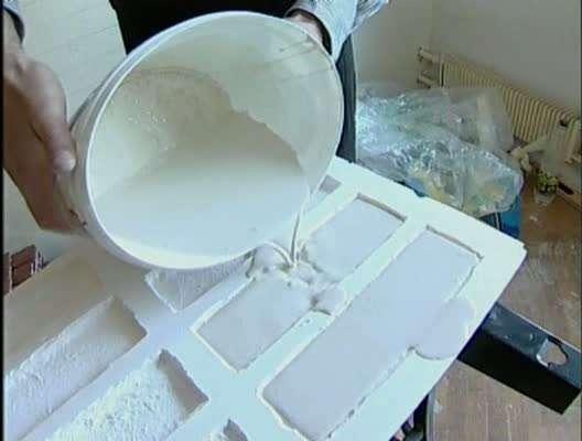 Плитка из гипса своими руками в домашних условиях
