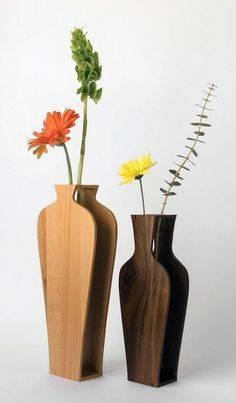 Напольные вазы своими руками из подручных материалов