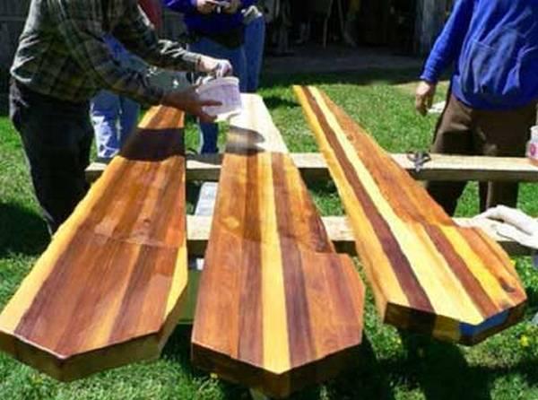 Олифа и как правильно применять? Натуральные масла дерева