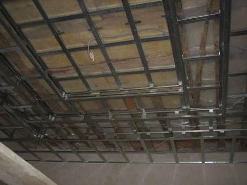 Как подшить потолок гипсокартоном своими руками 803